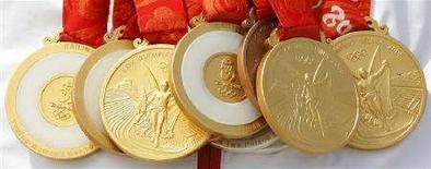 <p>Olimpiadi, Cina spenderà 2,6 milioni dollari in premi per atleti. REUTERS/Pascal Lauener</p>