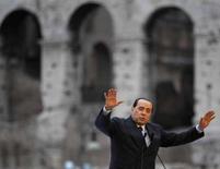 <p>Una immagine di archivio del presidente del Consiglio Silvio Berlusconi. REUTERS/Chris Helgren</p>