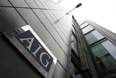 <p>Uffici di American International Group (Aig) a Londra. REUTERS/Andrew Winning</p>