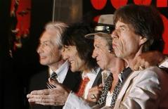 <p>Un'immagine dei Rolling Stones. REUTERS/Lucas Jackson</p>