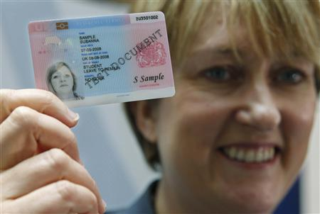 Id Card - New Unveiled Criticism Reuters Amid