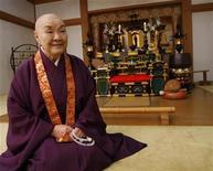 <p>Jakucho Setouchi. REUTERS/Kiyoshi Ota (JAPAN)</p>