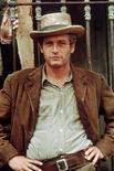 """<p>O ator Paul Newman em cena de """"Butch Cassidy"""" de 1969. Newman, cujos brilhantes olhos azuis, beleza e talento fizeram dele um dos principais atores de Hollywood em seis décadas, morreu após uma longa batalha contra o câncer. REUTERS/Courtesy 20th Century Fox/Handout</p>"""