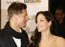 "<p>Actors Brad Pitt and Angelina Jolie arrive for the New York Film Festival premiere of ""Changeling"" in New York in this file photo from October 4, 2008. REUTERS/Lucas Jackson</p>"