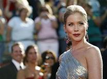 """<p>Actress Christina Applegate who has been nominated for her leading role in the comedy series """"Samantha Who?"""" arrives at the 60th annual Primetime Emmy Awards in Los Angeles September 21, 2008. REUTERS/Mario Anzuoni</p>"""