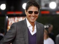 """<p>Foto de archivo en que el actor Tom Cruise asiste al estreno del filme """"Tropic Thunder"""" en Westwood, California 11 ago 2008. Tom Cruise está vivo y sano, según señaló el jueves su representante, desmintiendo reportes publicados en Internet que aseguraban que Cruise había fallecido a causa de una caída en Nueva Zelanda. """"Esto es completamente falso. Tom no está en Nueva Zelanda y tampoco ha estado ahí recientemente. Esto es basura errónea y poco fiable de Internet"""", dijo a Reuters el publicista de Cruise, Jeff Raymond. REUTERS/Mario Anzuoni (EEUU)</p>"""