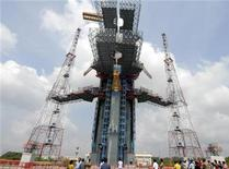 <p>Il razzo indiano Chandrayaan-1. REUTERS/Babu (INDIA)</p>