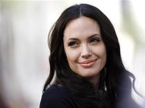 """<p>Cast member Angelina Jolie attends the DVD release of """"Kung Fu Panda"""" at the Grauman's Chinese theatre in Hollywood, California, November 9, 2008. REUTERS/Mario Anzuoni</p>"""