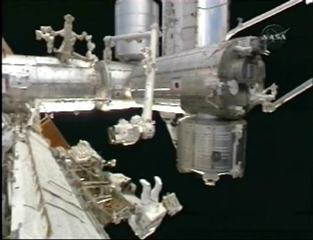Space station's new urine recycler has glitches