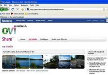 <p>Una pagina del social network Facebook. REUTERS/Tarmo Virki (FINLAND) EMBARGOED UNTIL 0300 GMT SEPTEMBER 9, 2008</p>