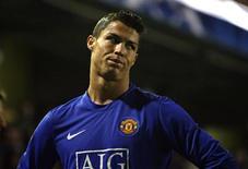 <p>Cristiano Ronaldo, jogador do Manchester United, que sofreu com a queda de público REUTERS/Sergio Perez (SPAIN)</p>
