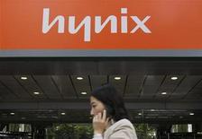 <p>Chip: Hynix cala, Qualcomm brilla nella classifica 2008. REUTERS/Lee Jae-Won</p>