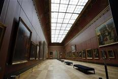 <p>General view of the Louvre museum in Paris October 7, 2008. REUTERS/Charles Platiau</p>