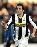 <p>Il giocatore della Juventus Alessandro Del Piero. REUTERS/Alessandro Garofalo</p>