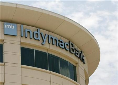 Private equity group buying IndyMac assets - Reuters