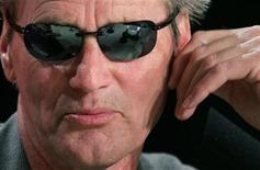 """<p>Sam Shepard attends a news conference for German director Wim Wenders' in-competition film """"Don't Come Knocking"""" at the 58th Cannes Film Festival May 19, 2005. REUTERS/Vincent Kessler</p>"""