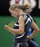 <p>A tenista autraliana Jelena Dokic, que lesionou o tendão de aquiles REUTERS/Adrees Latif</p>