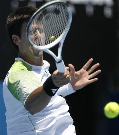 Djokovic Bonds With New Racket In Easy Sydney Win Reuters