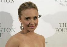 <p>Actress Hayden Panettiere arrives at The Huffington Post Pre-Inaugural Ball in Washington January 19, 2009. REUTERS/Mitch Dumke</p>