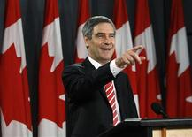 <p>Liberal leader Michael Ignatieff speaks during a news conference in Ottawa January 28, 2009. REUTERS/Chris Wattie</p>