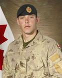<p>An undated handout photo of Canadian Sapper Sean David Greenfield who was killed in Afghanistan on January 31, 2009. Greenfield died on Saturday when his vehicle hit an explosive device on a road west of Kandahar in southern Afghanistan. REUTERS/Department of National Defence/Handout</p>