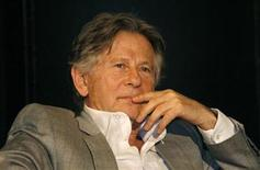 """<p>Director Roman Polanski reacts during a news conference to present his musical """"Tanz der Vampire"""" ('Dance of the Vampires') in Oberhausen September 29, 2008. REUTERS/Ina Fassbender</p>"""
