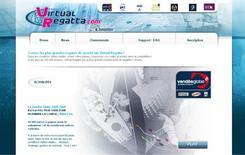 <p>A screengrab of virtualregatta.com taken on February 3, 2009. REUTERS/Virtualregatta.com</p>