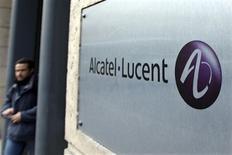 <p>Alcatel-Lucent annonce une perte nette de 5,2 milliards d'euros en 2008 due à des dépréciations massives à hauteur de 4,7 milliards, les plus importantes jamais passées par l'équipementier de télécommunications qui exclut pour l'heure un appel au marché. /Photo d'archives/REUTERS/Charles Platiau</p>