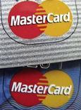 <p>Il logo di MasterCard, immagine d'archivio. REUTERS/Sam Mircovich (UNITED STATES)</p>