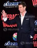 """<p>Foto de archivo del actor Tom Cruise durante la promoción de su película """"Valkyrie"""" en Ciudad de México, 5 feb 2009. Denzel Washington y Tom Cruise se enfrentarán en una adaptación de alto presupuesto de """"The Matarese Circle"""", un filme de suspenso basado en la novela de Robert Ludlum. REUTERS/Jorge Dan Lopez (MEXICO)</p>"""