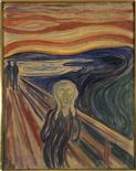 <p>Undated file photograph released by the Munch Museum in Oslo shows the original version of Edvard Munch's painting The Scream. REUTERS/Scanpix/Munch-Museum handout</p>