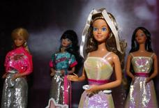 <p>A 1966 Barbie doll, the oldest in the exhibition, is displayed at the Doll Industry Museum in Taishan, Taipei County in this January 23, 2009 file photo. REUTERS/Nicky Loh/Files</p>