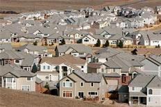 <p>A view of a neighborhood in the town of Superior, Colorado, a Denver suburb February 27, 2006. REUTERS/Rick Wilking</p>