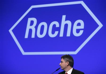 roche holding ag funding the genentech acquisition
