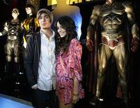 """<p>Actors Zac Efron and Vanessa Hudgens (R) pose at the party following the premiere of the movie """"Watchmen"""" in Hollywood, California March 2, 2009. REUTERS/Mario Anzuoni</p>"""