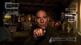 """<p>Actor Pete Postlethwaite in a scene from """"The Age of Stupid"""" -- a film about a future world devastated by climate change. REUTERS/Handout</p>"""
