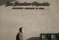 <p>L'insegna del San Francisco Chronicle. REUTERS</p>