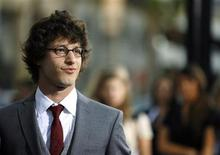 """<p>Andy Samberg attends the premiere of """"Hot Rod"""" at the Mann's Chinese theatre in Hollywood, California July 26, 2007. REUTERS/Mario Anzuoni</p>"""