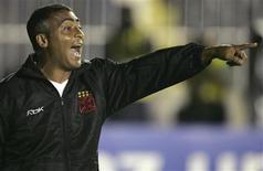 <p>Ex-atacante Romário, durante seu período no Vasco, em outubro de 2007. O ex-jogador voltará ao futebol como dirigente do América. REUTERS/Bruno Domingos</p>