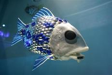 <p>Um peixe-robô desenvolvido por cientistas britânicos deve ser lançado em 2010 no mar do norte da Espanha para detectar poluição.</p>