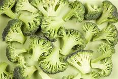 <p>Pieces of broccoli are seen in this undated photo. REUTERS/Newscom</p>