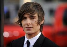 """<p>Cast member Zac Efron attends the movie premiere of the film """"17 Again"""" in Los Angeles April 14, 2009. REUTERS/Phil McCarten</p>"""