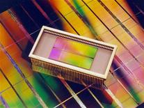 <p>L'offre sur le marché des mémoires va rester très au-dessus de la demande pendant encore plusieurs trimestres, empêchant les fabricants de redevenir bénéficiaires, selon le cabinet d'études iSuppli. /Photo d'archives/REUTERS</p>