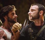 """<p>Atores Hugh Jackman e Liev Schreiber em cena do filme """"X-Men Origens: Wolverine"""". REUTERS/James Fisher/Twentieth Century Fox/Divulgação</p>"""