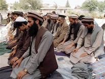 <p>Immagine d'archivio di musulmani in preghiera. Picture taken September 1995. ZH/JD</p>