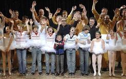 "<p>Il cantante Elton John alla premiere del musical ""Billy Elliot"". REUTERS/James Morgan/Pool (AUSTRALIA) MANDATORY CREDIT</p>"