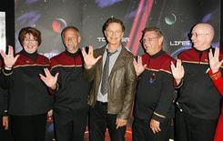 """<p>Ator canadense Bruce Greenwood antes da exibição especial do filme """"Star Trek"""" em Calgary. 06/05/2009. REUTERS/Todd Korol</p>"""