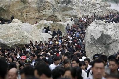 China's quake zone: One year on