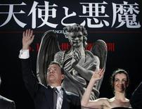 "<p>Tom HAnks e Ayelet Zurer a Tokyo per ""Angeli e Demoni"". REUTERS/Issei Kato (JAPAN ENTERTAINMENT)</p>"
