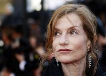 <p>L'attrice francese Isabelle Huppert, presidente della giuria al Festival di Cannes. REUTERS/Jean Paul Pelissier</p>